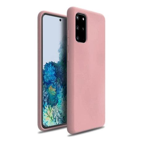ShieldCase Shieldcase Silicone case Samsung Galaxy S20 Plus (roze)