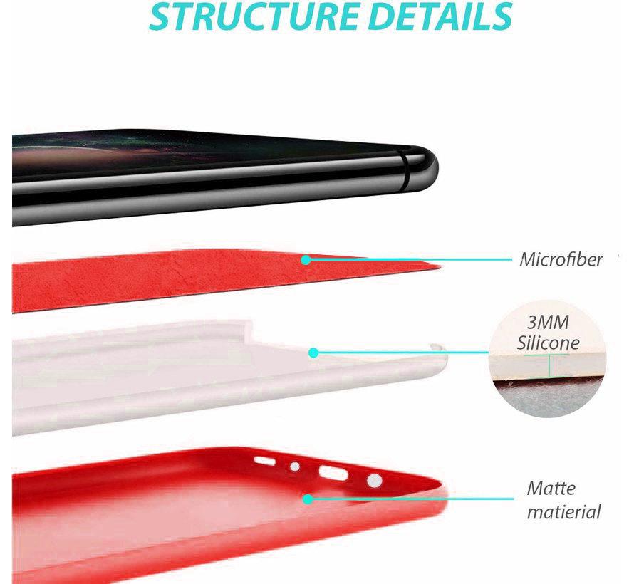 Shieldcase Silicone case Samsung Galaxy S20 Plus (rood)
