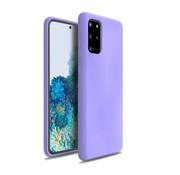 ShieldCase® Silicone case Samsung Galaxy S20 Plus (paars)