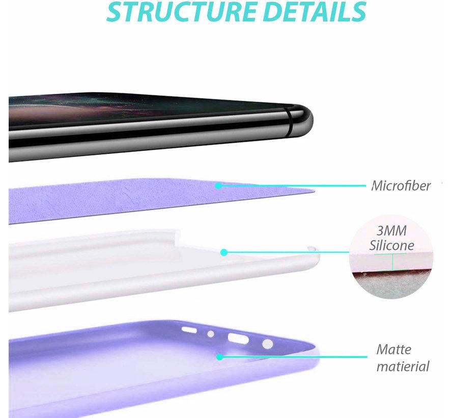 Shieldcase siliconen hoesje Samsung Galaxy A51 (paars)