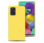 ShieldCase® Siliconen hoesje Samsung Galaxy A51 (geel)
