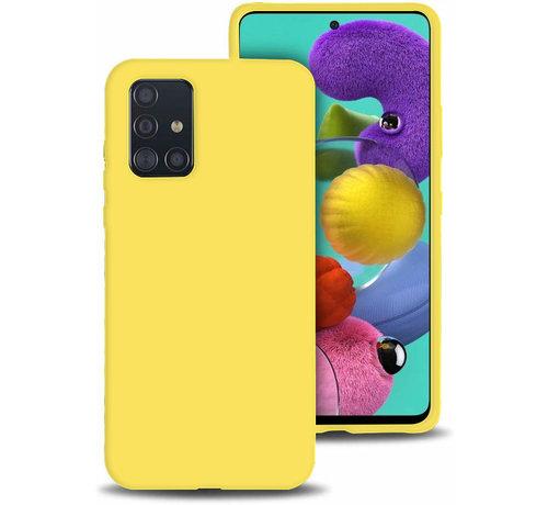 ShieldCase Shieldcase siliconen hoesje Samsung Galaxy A51 (geel)