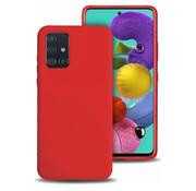 ShieldCase® Silicone case Samsung Galaxy A71 (rood)
