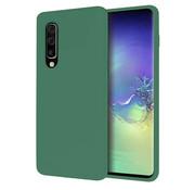 ShieldCase® Silicone case Samsung Galaxy A50 (groen)