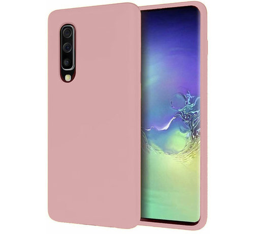 ShieldCase Shieldcase Silicone case Samsung Galaxy A50 (roze)