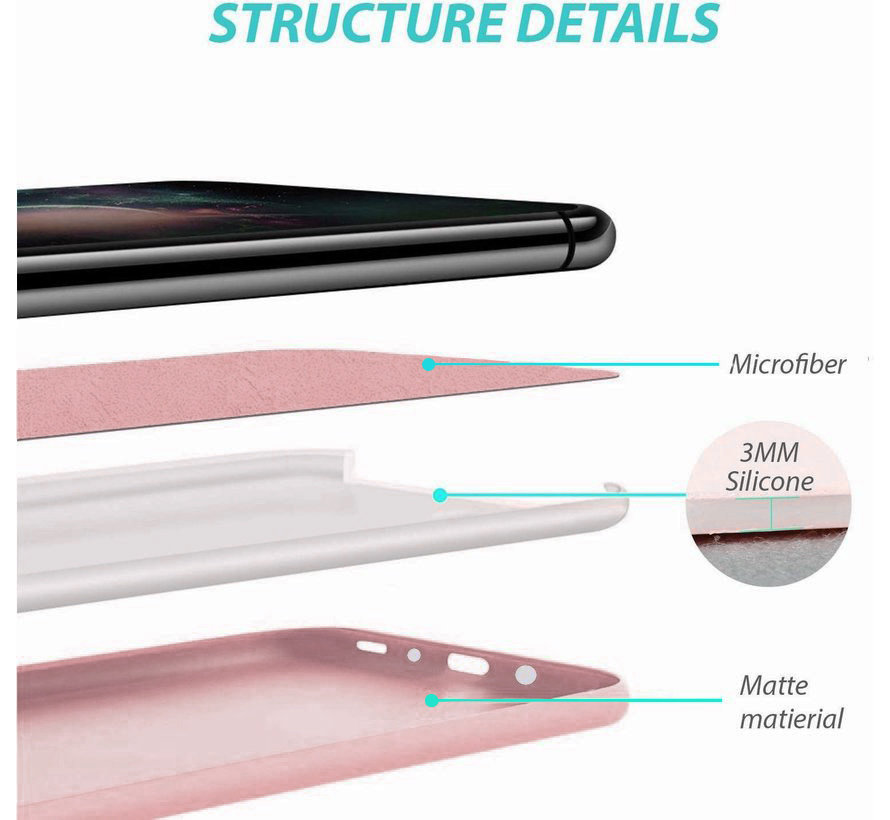 Shieldcase Silicone case Samsung Galaxy A50 (roze)
