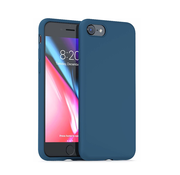 ShieldCase Silicone case iPhone 7 / 8 (blauw)