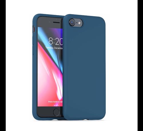 ShieldCase Shieldcase Silicone case iPhone 7 / 8 (blauw)