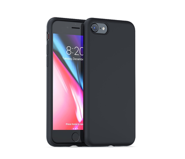 ShieldCase® Silicone case iPhone 7 / 8 (zwart)