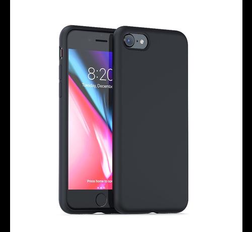 ShieldCase Shieldcase Silicone case iPhone 7 / 8 (zwart)