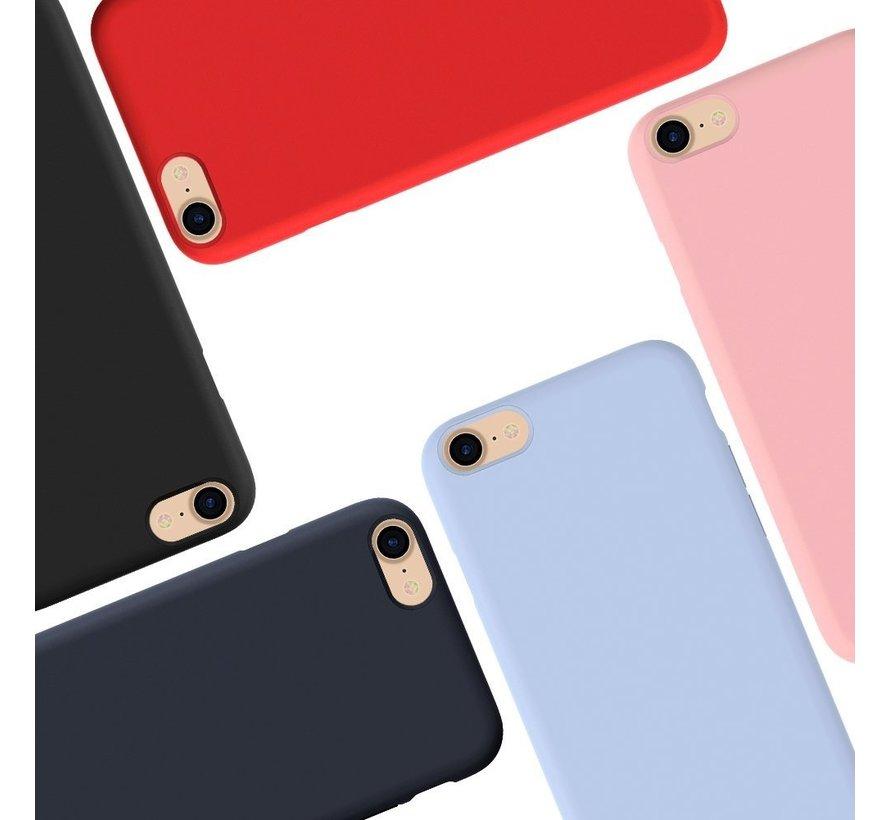 Shieldcase Silicone case iPhone 7 / 8 (blauw)