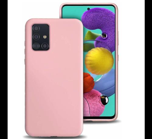 ShieldCase Shieldcase siliconen hoesje Samsung Galaxy A51 (roze)