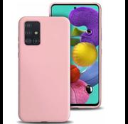 ShieldCase® Silicone case Samsung Galaxy A71 (roze)