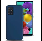 ShieldCase® Silicone case Samsung Galaxy A71 (blauw)