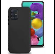 ShieldCase® Silicone case Samsung Galaxy A71 (zwart)
