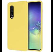 ShieldCase Silicone case Samsung Galaxy A50 (geel)