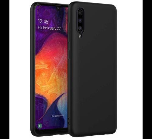 ShieldCase® Shieldcase Silicone case Samsung Galaxy A50 (zwart)