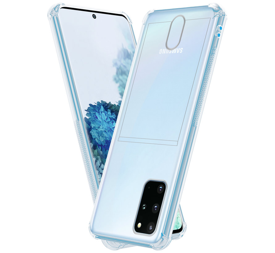 ShieldCase Samsung Galaxy S20 Plus shock case met pashouder