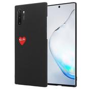 ShieldCase® Heart Eyes Samsung Galaxy Note 10 Plus hoesje (zwart)