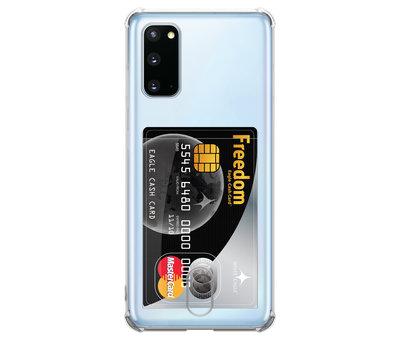 ShieldCase ShieldCase Samsung Galaxy A71 Shock case met pashouder