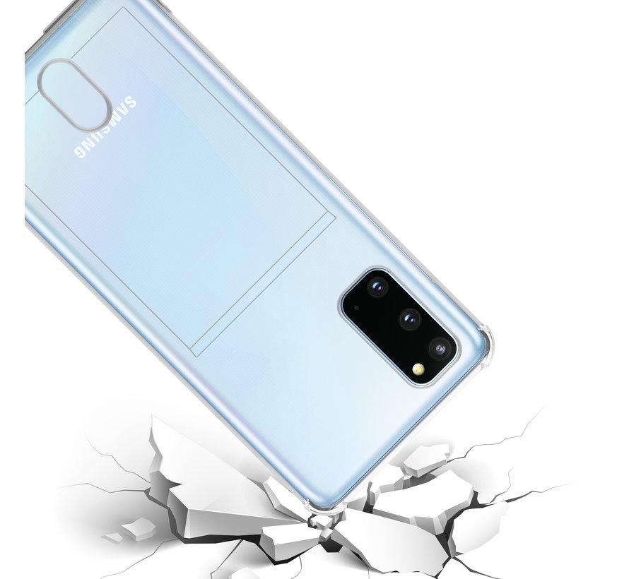 ShieldCase Samsung Galaxy A71 Shock case met pashouder