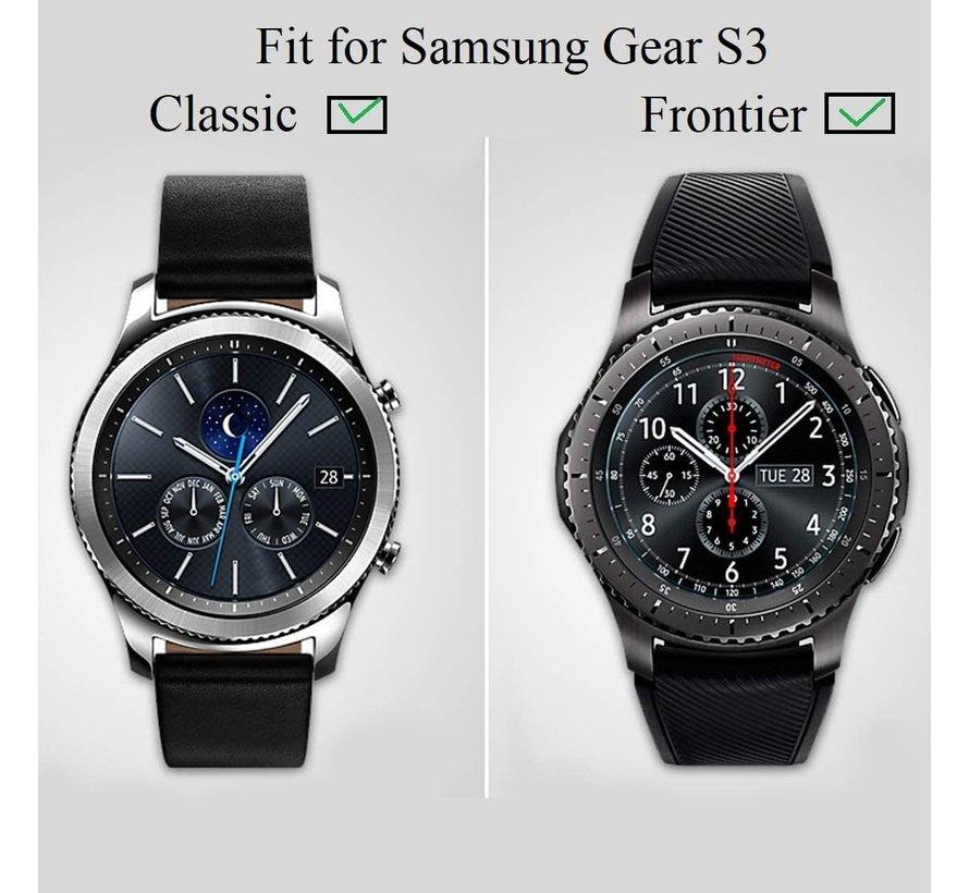 Samsung Gear S3 screen protector plastic