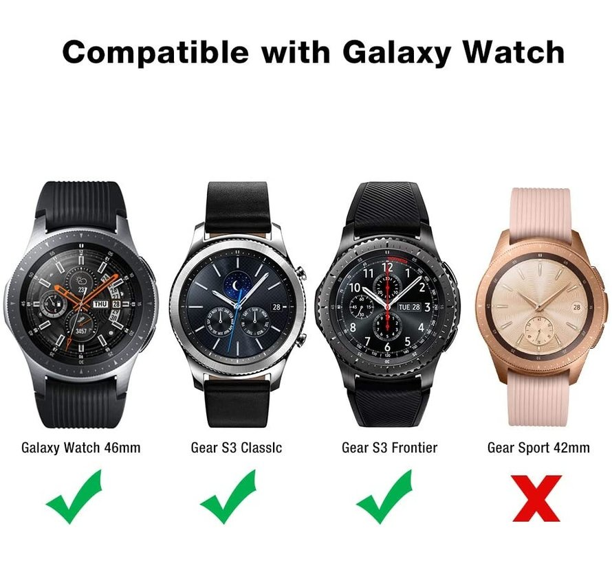 Samsung Gear S3 screen protector tempered glass