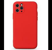 ShieldCase Siliconen hoesje met camera bescherming iPhone 11 Pro (rood)