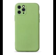 ShieldCase Siliconen hoesje met camera bescherming iPhone 11 Pro Max (lichtgroen)