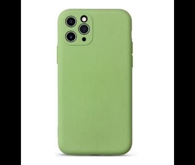 ShieldCase Shieldcase Siliconen hoesje met camera bescherming iPhone 11 Pro Max (lichtgroen)