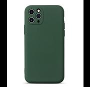 ShieldCase® Siliconen hoesje met camera bescherming iPhone 11 Pro Max (donkergroen)