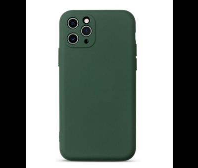 ShieldCase® Shieldcase Siliconen hoesje met camera bescherming iPhone 11 Pro Max (donkergroen)