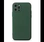 Shieldcase Siliconen hoesje met camera bescherming iPhone 11 Pro Max (donkergroen)
