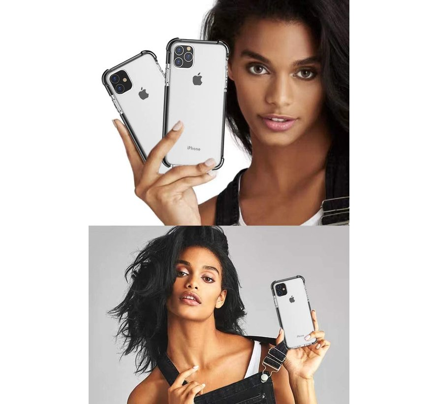 ShieldCase bumper shock case iPhone 11 Pro Max (zwart)