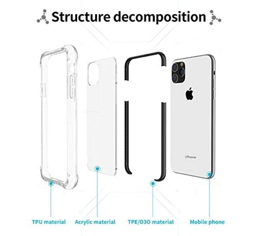 ShieldCase bumper shock case iPhone 11 (zwart)