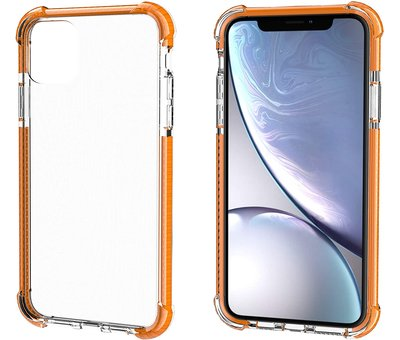 ShieldCase® ShieldCase Bumper shock case iPhone 11 (oranje)