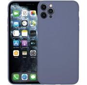 ShieldCase Siliconen hoesje met camera bescherming iPhone 11 Pro (lavendel grijs)