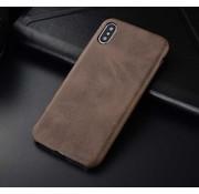 ShieldCase iPhone X / Xs hoesje leer (bruin)