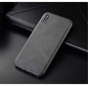 ShieldCase® iPhone Xr hoesje leer (grijs)