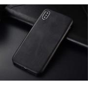 ShieldCase® iPhone Xr hoesje leer (zwart)