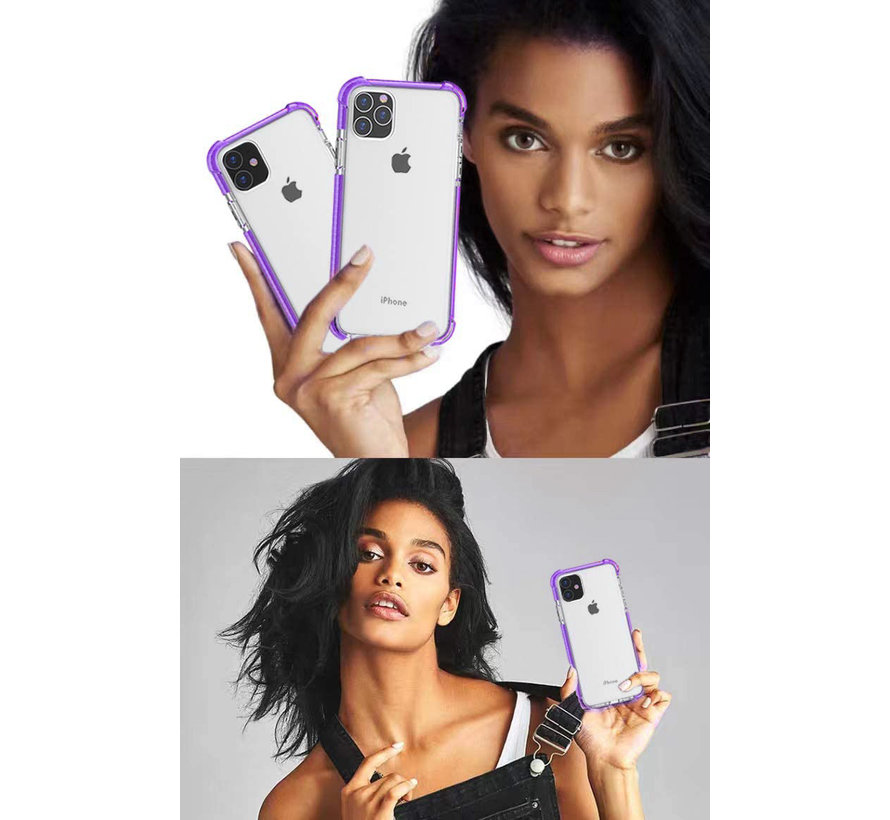 ShieldCase bumper shock case iPhone 11 Pro Max (paars)