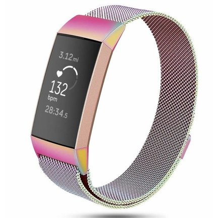 Fitbit Charge 3 Milanese bandjes