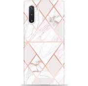 ShieldCase Samsung Note 10 Plus hoesje marmeren patroon