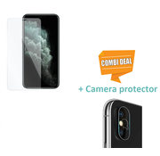 ShieldCase Tempered Glass Screenprotector + Camera Glass iPhone X / Xs