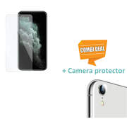 ShieldCase® Tempered Glass Screenprotector + Camera Glass iPhone Xr