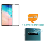 ShieldCase® Tempered Glass Screenprotector + Camera Glass Samsung Galaxy S10