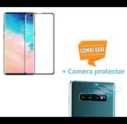 ShieldCase® Tempered Glass Screenprotector + Camera Glass Samsung Galaxy S10e