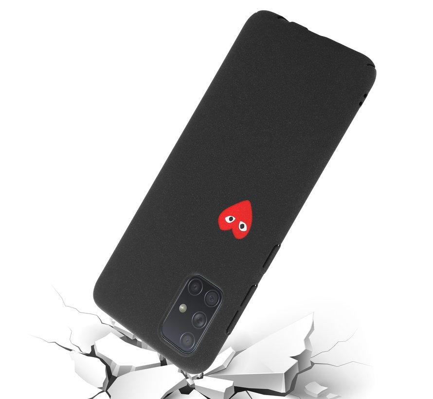 Shieldcase Samsung Galaxy A51 hoesje met hartje