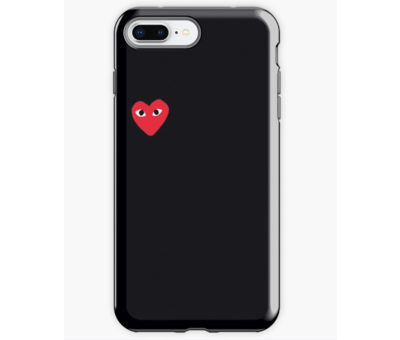 ShieldCase ShieldCase hoesje met hartje iPhone 8 Plus / 7 Plus
