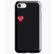 ShieldCase® Heart Eyes iPhone 7/8 hoesje (zwart)